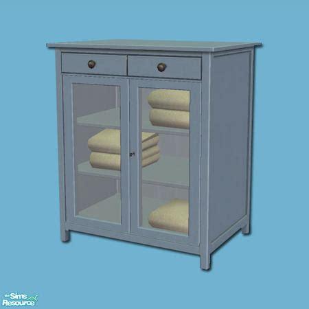 Hemnes Linen Cabinet by Shakeshaft S Hemnes Add Ons Linen Cabinet Blue