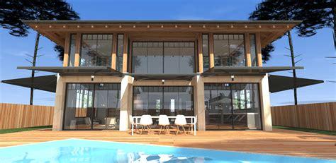 construction d une maison construction d une maison bois et brique au pyla mcc