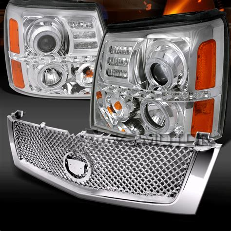Emblem Vip Abs By Tastestos 02 06 cadillac escalade suv chrome led projector