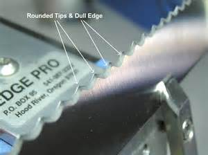 how to sharpen serrated kitchen knives sharpening serrated edges