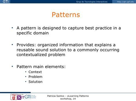 pattern making workshop practice computer assisted assessment patterns for different target