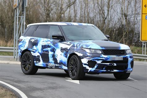 camo range rover 2015 range rover sport rs gets cool camo in latest