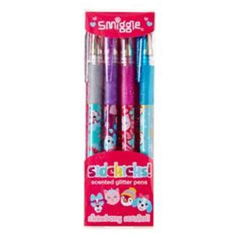 Smiggle Pastel Scented Gel Pens X 7 Pulpen Smiggle 2tone silicone roll bottle smiggle children packag
