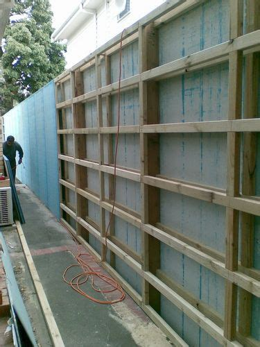 cement sheet fence  screen idea fence design fence