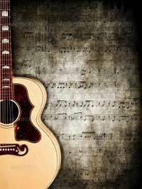 Background Guitar Music  Kindle Pics