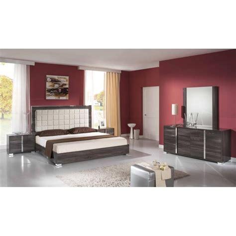 chambre a coucher complet chambre 224 coucher compl 232 te design moderne panel meuble