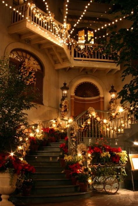 holiday decorated homes 20 christmas staircase decorations ideas 2017 uk
