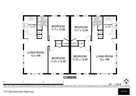 Single Mobile Home Floor Plans building floor plan montauk beach bungalow
