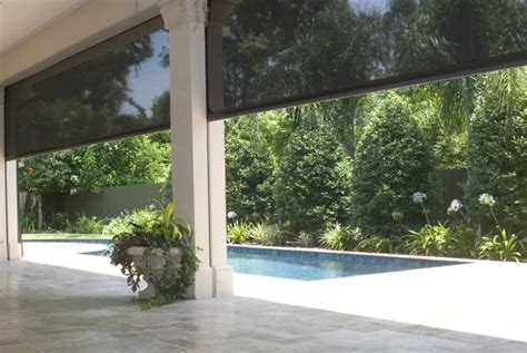 Electric Patio Screens by Electric Roll Screens 187 Nsa Outdoor Living 187 Outdoor