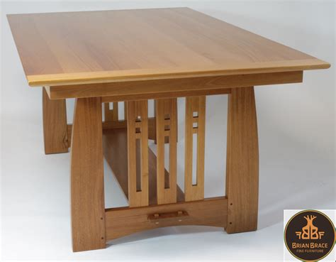 Arts And Crafts Dining Room Table Arts And Crafts Dining Room Table By Brian Brace Furniture Maker Lumberjocks
