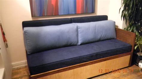 Futon For Back by Crafted Custom Cushions And Pillows For Daybed With