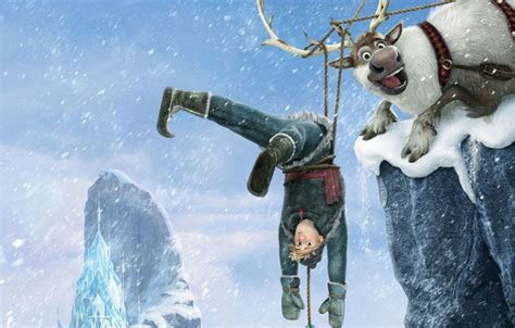 Walt Disney Kingdom Hearts Iphone Semua Hp wallpaper walt disney animation snowflakes deer hans kristoff castle walt disney