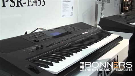 yamaha keyboard tutorial videos yamaha psr e453 keyboard buyers guide demo from uk doovi