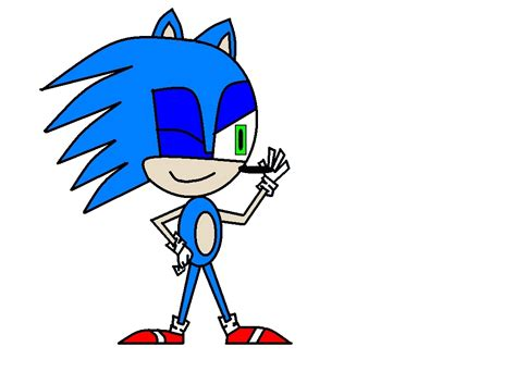 painting sonic sonic on ms paint sonic the hedgehog fan 5026696