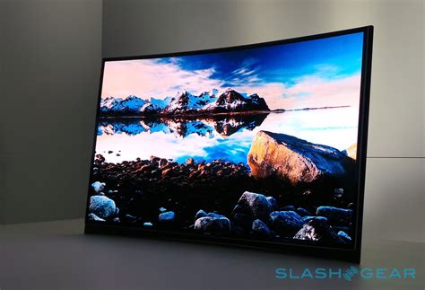 Tv Oled it s lg versus samsung in the curved oled tv wars slashgear