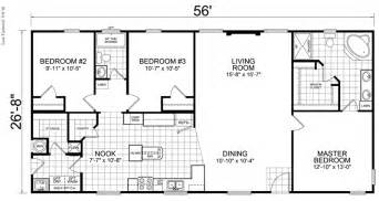 2 bedroom 1 bath mobile home floor plans home 28 x 56 3 bed 2 bath 1493 sq ft little house