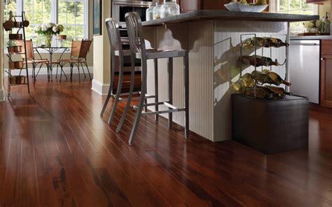 Install Kitchen Island by Budget Hardwood Flooring Rhode Island