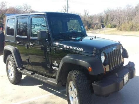 4 Door Jeep Wrangler For Sale 10000 Buy Used Jeep Wrangler Unlimited Rubicon Sport Utility 4