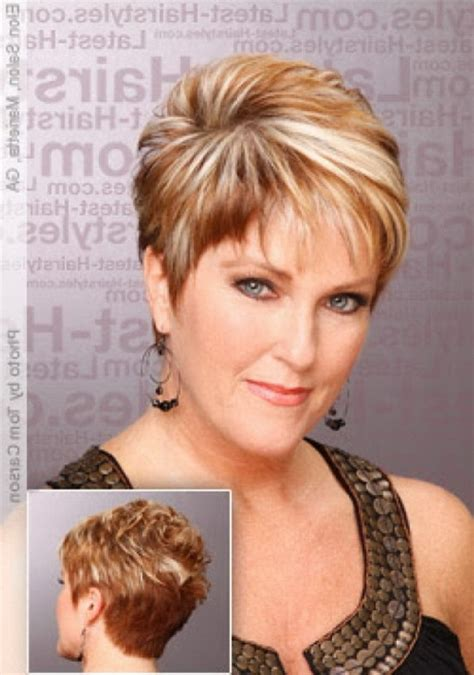 hairstyles for women over 40 with very fine thin hair 2015 images very short haircuts for women over 40