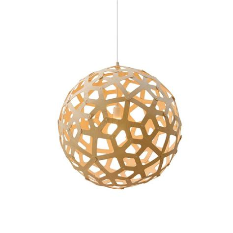 Coral Contemporary Wooden Light For Dining Room Living Coral Pendant Light