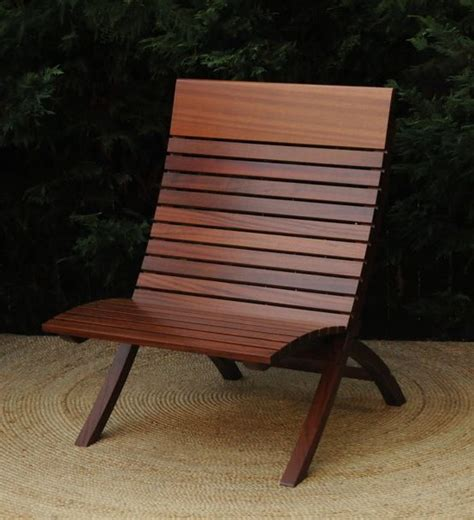 hand crafted mahogany indoor outdoor barcelona chair by