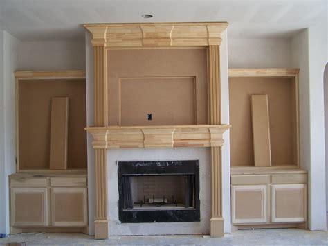 Build Modern Mantel   Fireplace Designs