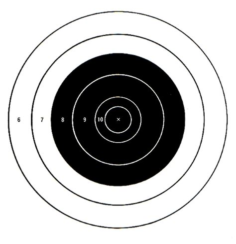 printable targets a4 the gallery for gt printable shooting targets a4
