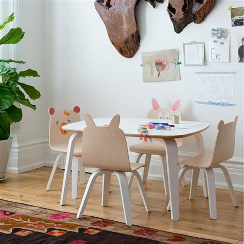 mesa con silla infantil mesas y sillas oeuf play para ni 241 os