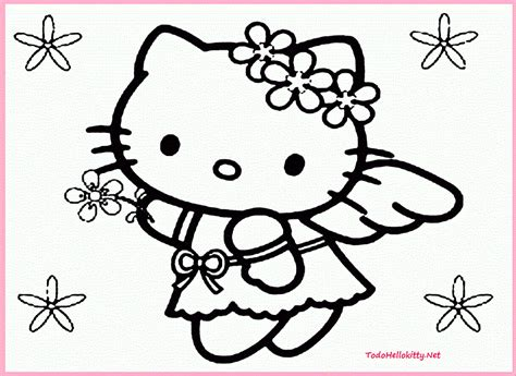hello kitty hawaii coloring pages how to draw kitty hawaii