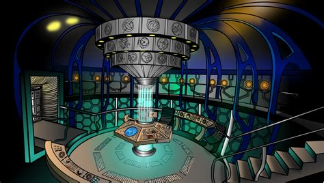 Doctor Who Tardis Interior by Tardis Interior By Milminodraws On Deviantart
