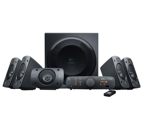 Speaker Logitech Z906 5 1 Speakers buy logitech z906 5 1 pc speakers free delivery currys