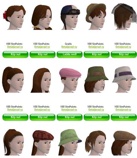 Namn På Frisyrer by The Sims 3 4 Frisyrer