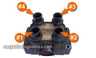 part 1 how to test the 4 cylinder coil pack ford 1 9l 2 0l