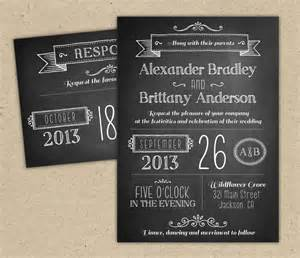 chalkboard invitation template chalkboard wedding invitation modern invitation template diy