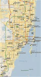 Maps Miami by Map Of Miami Attractions Directions To Miami Sightseeing