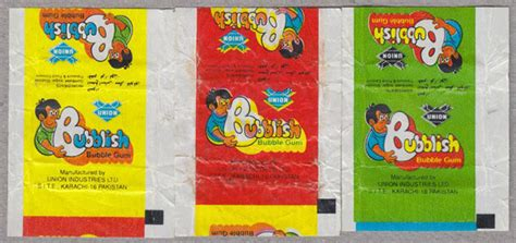 Isi 3 Bublegum cuan s curious collections gum wrappers