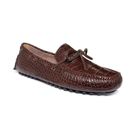 cole haan shoes cole haan grant canoe c moc shoes in animal for