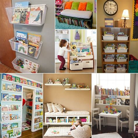 25 best ideas about kid book storage on book
