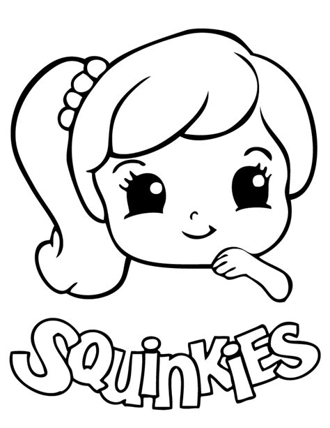 kawaii girl coloring pages cute coloring pages for girls az coloring pages