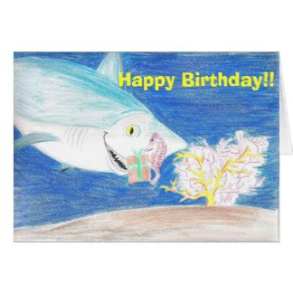 baby shark happy birthday shark birthday cards shark birthday card templates