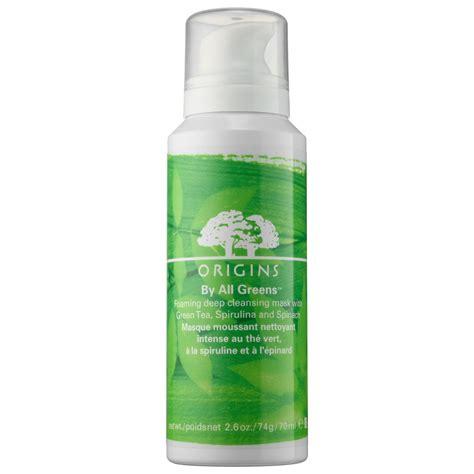 Temulawak V Cleanser Foam Bpom V Original origins by all greens foaming cleansing mask
