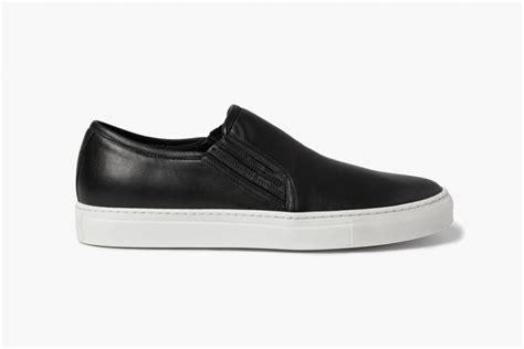 sneakers on balmain balmain leather slip on sneakers