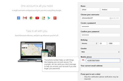 cara membuat email google talk cara membuat email di google dan akun youtube dengan mudah