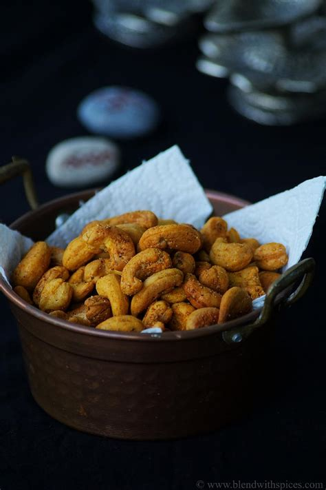 Oven Baked Nuts oven roasted cashew nuts recipe easy diwali snacks recipes blend with spices