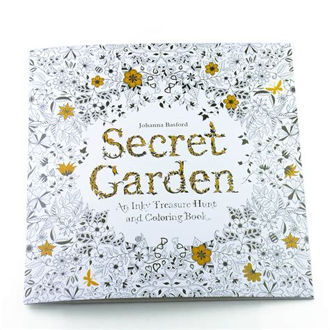 secret garden coloring book national bookstore price 24 pages relieve stress for children painting