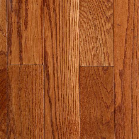 bruce oak saddle   thick     wide  random length solid hardwood flooring  sq