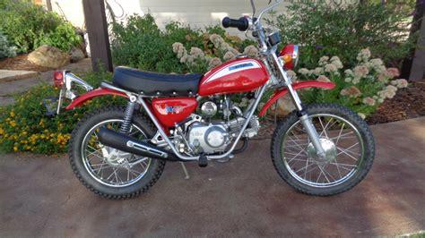 Honda Sl70 by 1971 Honda Sl70 K0 107 Marbles Motors