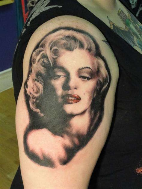 red lips tattoo sleeve 60 most beautiful marilyn monroe tattoos golfian com