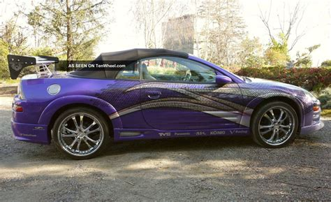 2003 mitsubishi eclipse spyder 2003 mitsubishi eclipse spyder information and photos