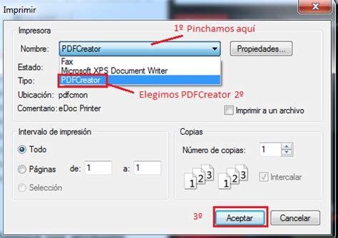 tutorial internet gratis pdf convierte a pdf cualquier web de internet con pdfcreator